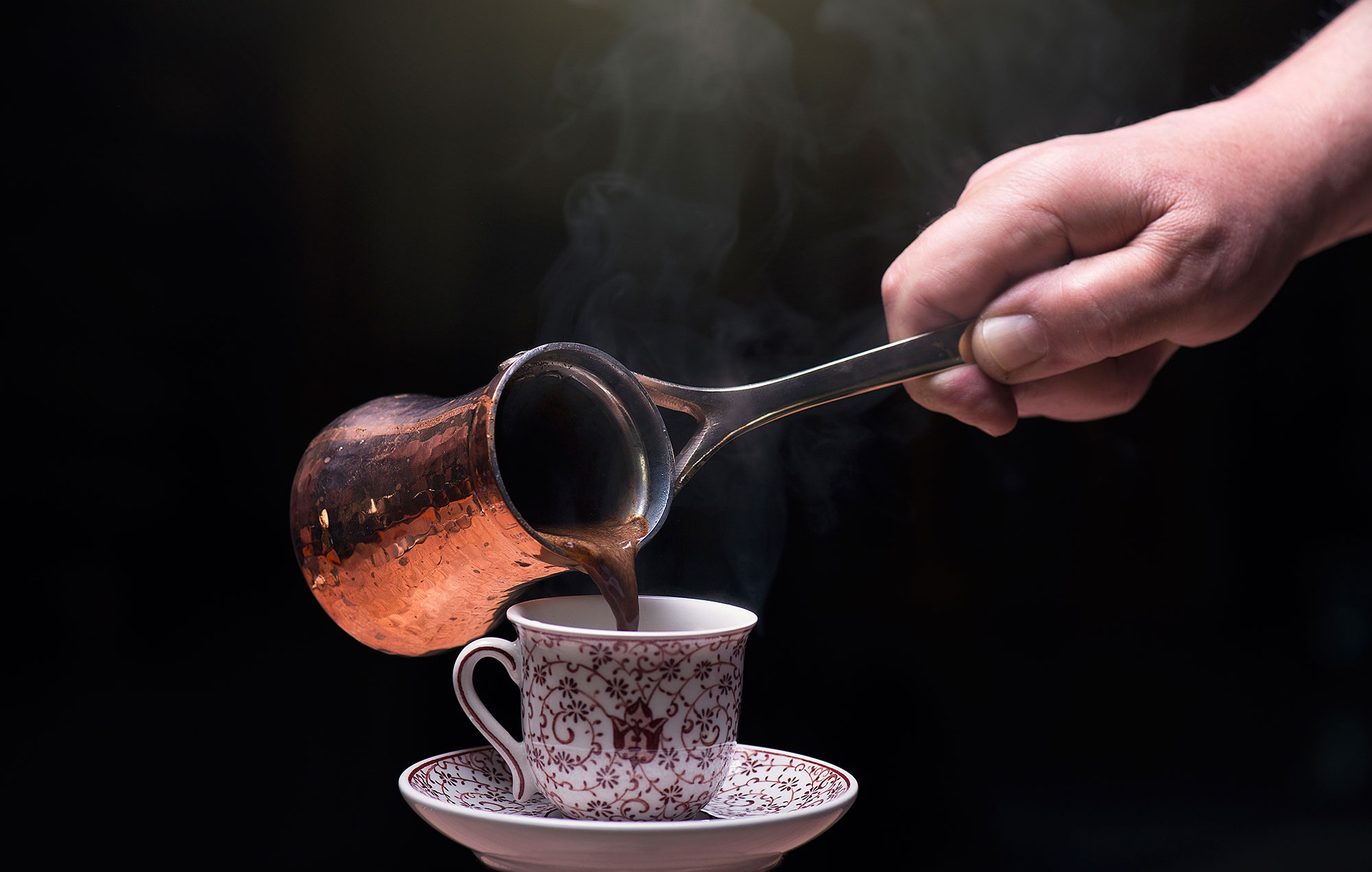 Mastering the art of Turkish coffee at home